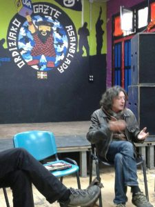 Foto presentación Ordizia-Gaztetxe. 30 abril 2016