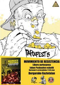 Presentación Bergara-Gaztetxe. Tapoi Fest 5. 5 marzo 2016