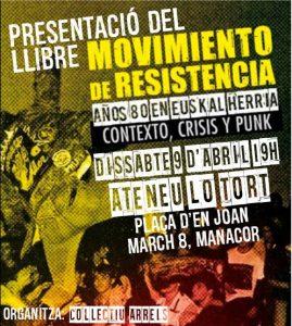 Presentación Mallorca-Manacor. 9 abril 2016